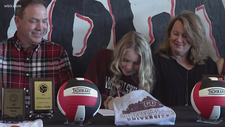 Central volleyball senior signs to play at Campbellsville University