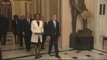 Heavy Hitters: Senate receives Articles of Impeachment; Senator Lamar Alexander reacts