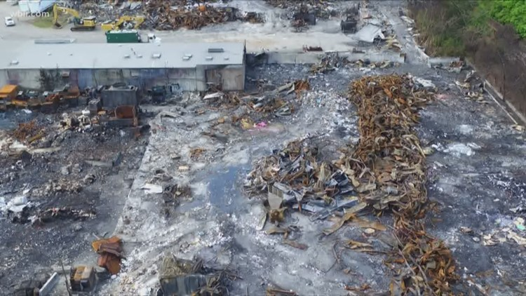 Arson investigators determine cause of Fort Loudon Waste and Recycling fire
