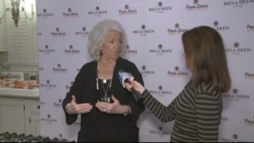 Paula Deen visits her fans in Pigeon Forge