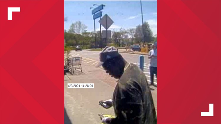 FBI and Knoxville police searching for suspect in a FSNB Bank robbery inside a Walmart