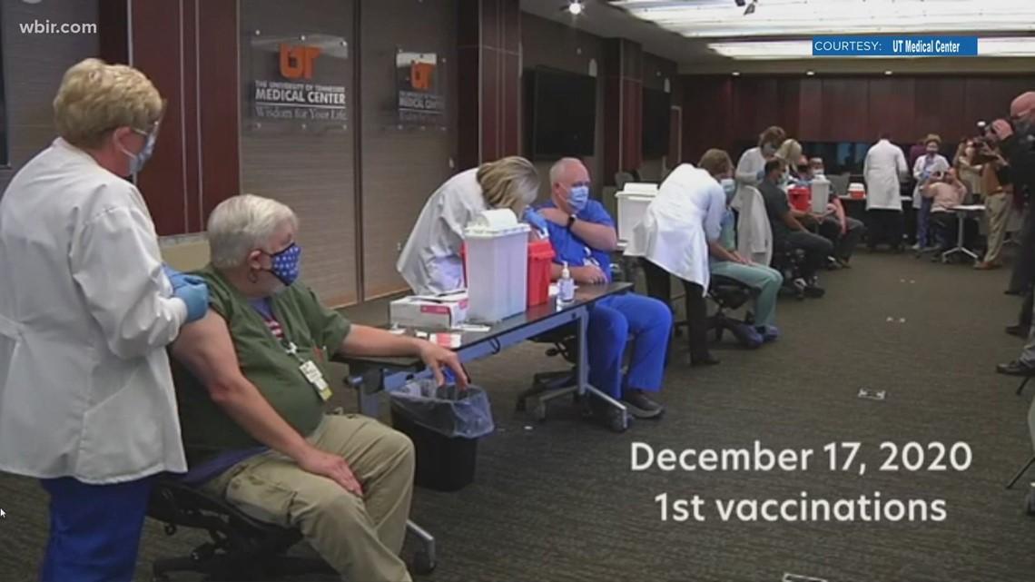 UT Medical Center reaches milestone of 50,000 vaccine doses