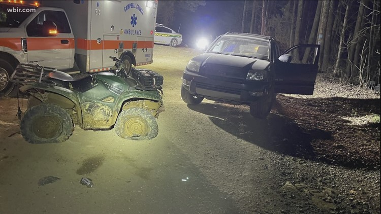 TWRA: Knoxville man in ICU after ATV wreck