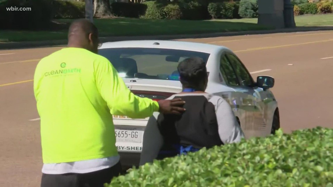 Community reacts after supermarket shooting in West Tennessee