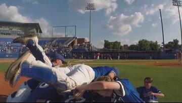 CAK baseball celebrates 2018 state championship