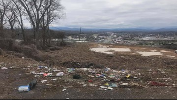 Group of friends fed up with litter cleans up trashed Sevier County spots
