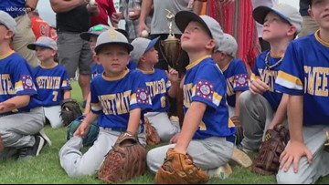 Sweetwater Dixie Youth Team in the World Series