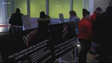 'The Voice' to hold auditions in Nashville