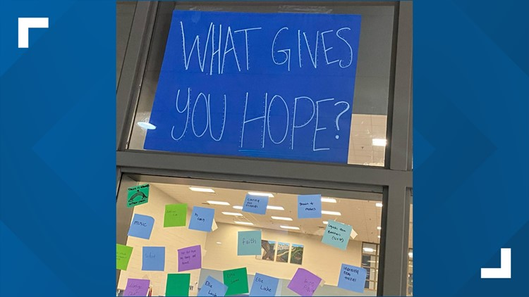 What gives you hope?   Hardin Valley Academy creates