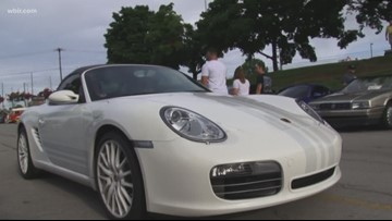 People flock to July 2019 Cars and Coffee