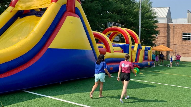 Children's hospital gives kids a chance for summertime fun with Camp Eagle's Nest