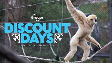 Zoo Knoxville offering $5 off winter admission during Kroger Discount Days