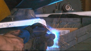 Demand for skilled workers offers alternative to four-year college degree