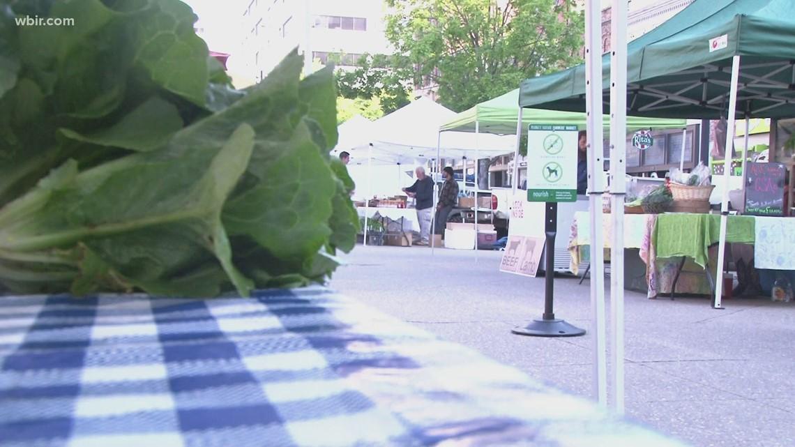 Farmers' Market returns to Market Square