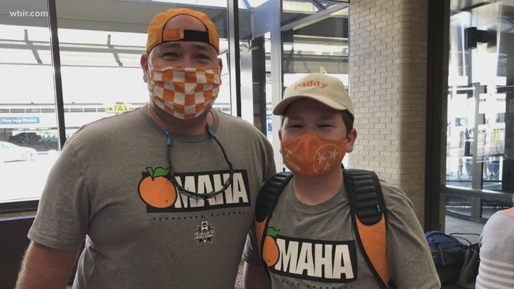 Go, Vols! | Fans flock to Omaha to cheer on the Vols in College World Series