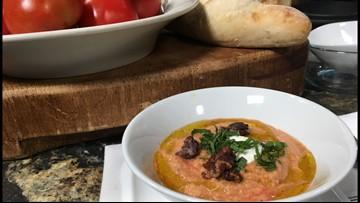 Chilled Tomato Basil Soup