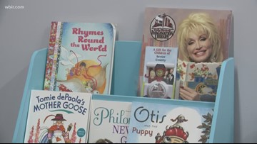 Well Wishing Laundry Mat teams up with Dolly's Imagination Library in Gatlinburg for child literacy