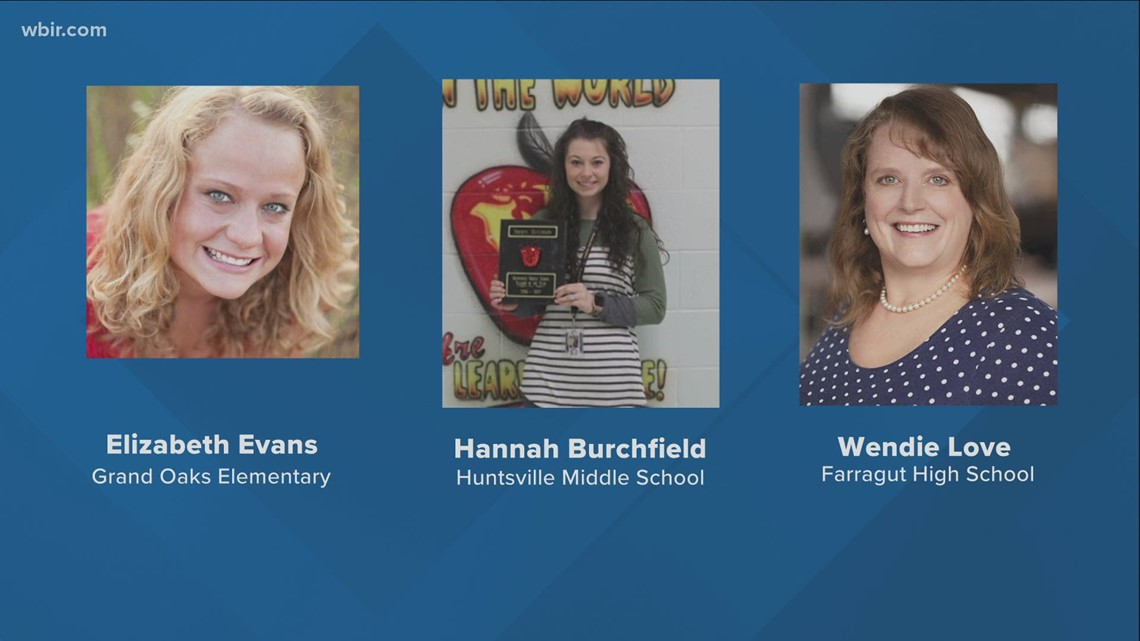 Three East Tennessee teachers semi-finalists for teacher of the year