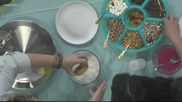 Creating a DIY donut station