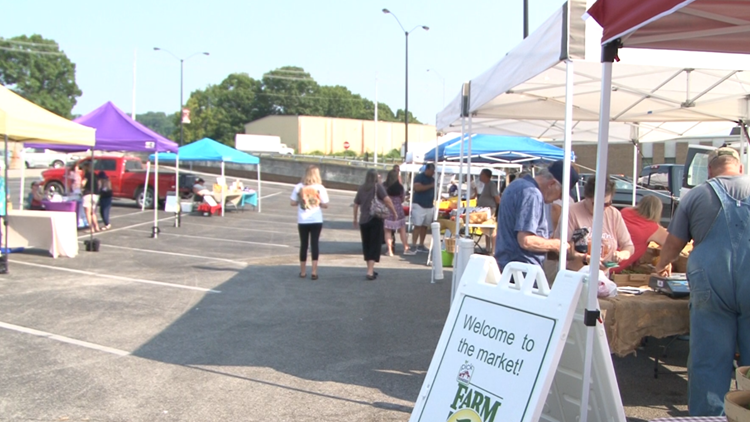 Clinton ribbon-cutting ceremony unveils farmers' market and historic downtown area