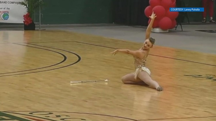 2018 World Baton Twirling Championships gold medal performance