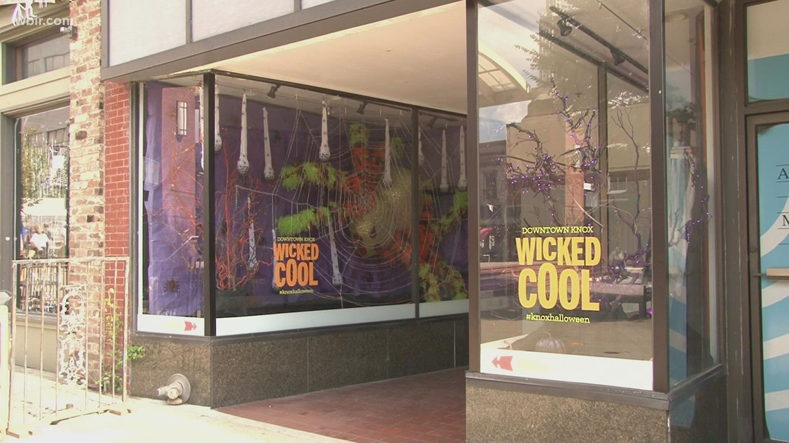Downtown Knoxville features 'wicked cool' Halloween Decorations