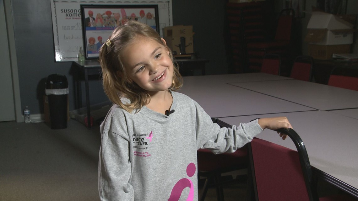 10 Rising Hearts: little girl makes a big difference in the Race for the Cure