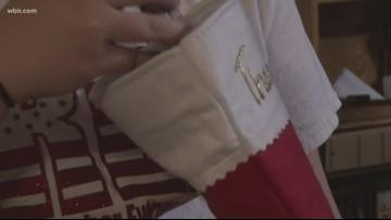 East Tennessee volunteers send stockings to troops overseas
