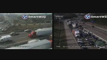 I-75 South Crash at Merchants Drive