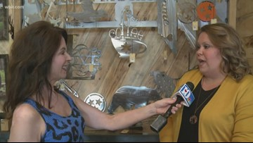 Seymour Local features handcrafted items from East Tennessee