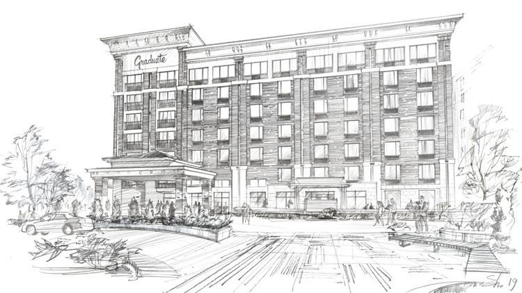 Rendering of Graduate Knoxville