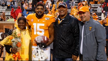 Tennessee honors 14 players on Senior Day