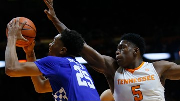 Contrasting styles clash Saturday when no. 1 Vols visit no. 5 Kentucky