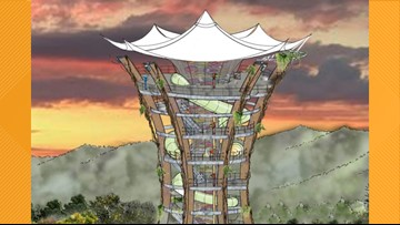 New Anakeesta tower will be the tallest point in downtown Gatlinburg