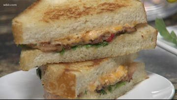 In the kitchen: Bacon and pimento grilled cheese
