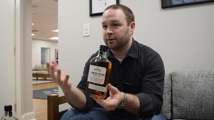New flavor of Jack Daniel's whiskey