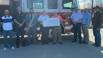 Up in smoke: Oak Ridge Fire Department to repair and resupply burn trailer after donation