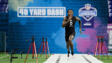 Tennessee Vols compete at the NFL Combine