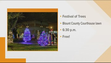 Blount County Festival of Trees brightens up courthouse lawn starting today, Dec. 5