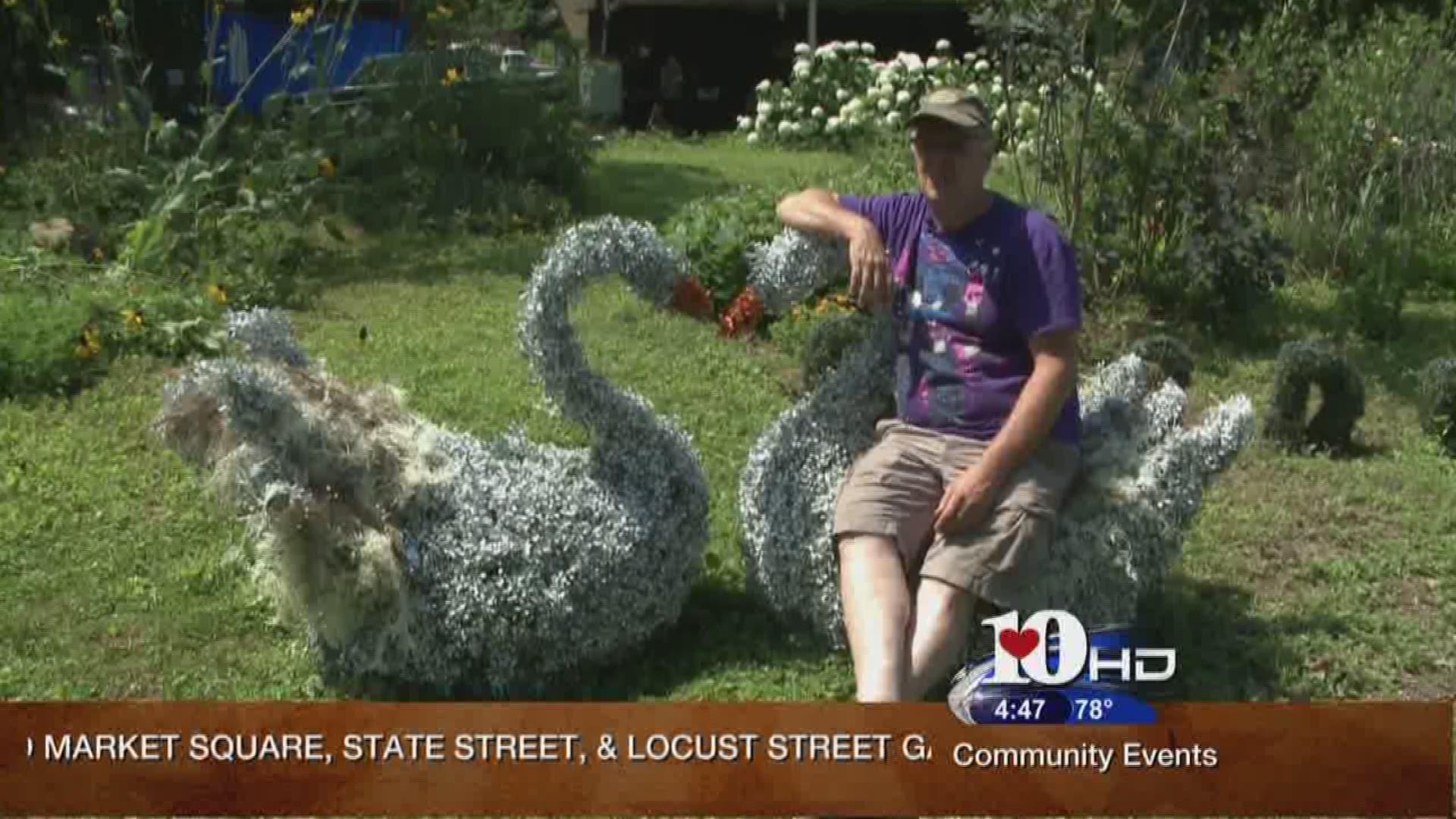 Hometown Spotlight Topiary Joe Wbir Com