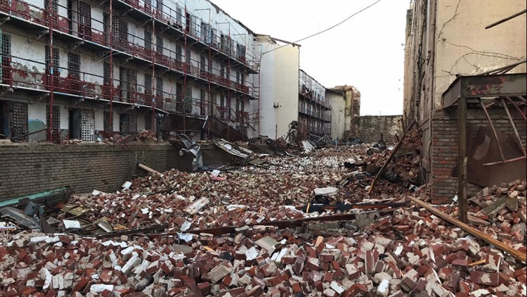 Historic Tennessee State Prison damaged in Nashville tornadoes