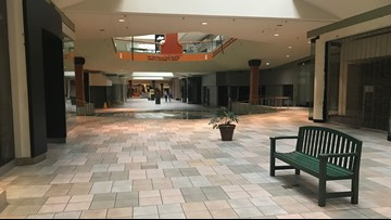 Quiet and empty: What Knoxville Center Mall looks like now