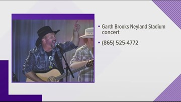 Garth Brooks in Knoxville ticket giveaway