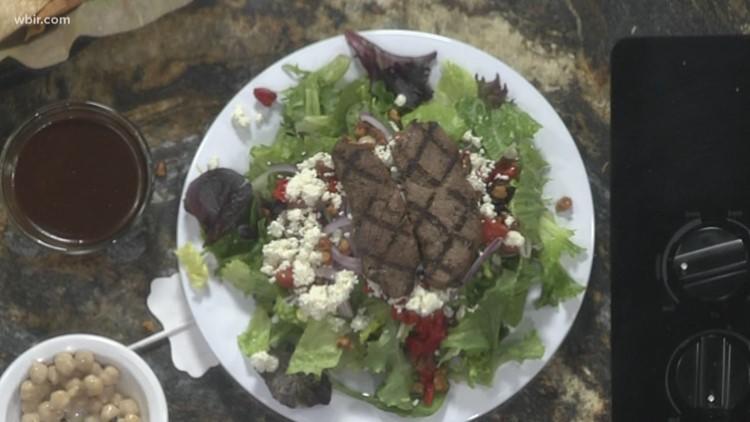 This Mediterranean salad has plenty of flavor and no guilt