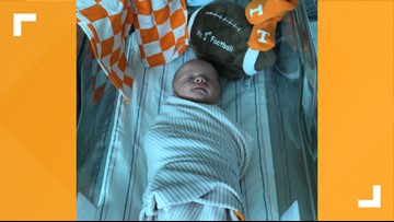 'Neyland' baby born just in time to watch UT take on Alabama