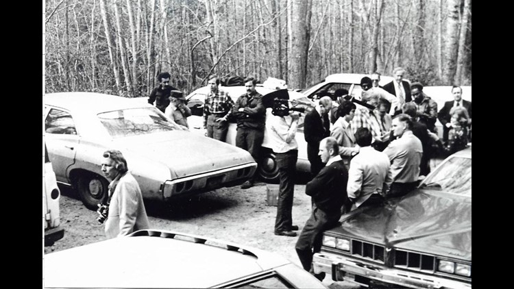 Five teams were assembled to look for Bradford Bishop after the family vehicle was found at Elkmont Campground. Photo: Dwight McCarter