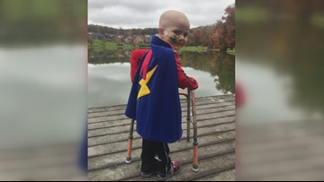 Special PJs help kids fight cancer more comfortably