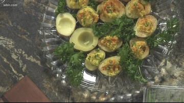 In the kitchen: Deviled potatoes