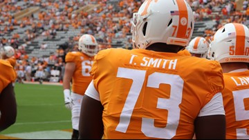 Vols player Trey Smith wins SEC Co-Offensive Lineman of the Week'