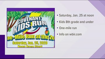 Zoo Knoxville hosts Covenant Kids Run